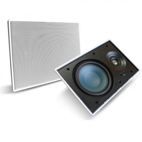 """AAT LR-E100 - Par de caixas acústicas de embutir 6,5"""" bordless"""