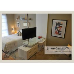 Suporte Giratório TV Fixação Móvel e Teto » de até 3 metros