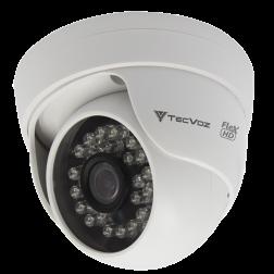 CAM. DOME HD IR 1.0 MP (720P) 24 LEDS 25MTS - 2.8 TECVOZ