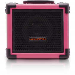 Caixa 20W Bluetooth/USB/SD/FM IRON 80 Rosa HAYONIK