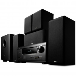 HOME THEATER DENON DHT-391XP 5.1 PRETO