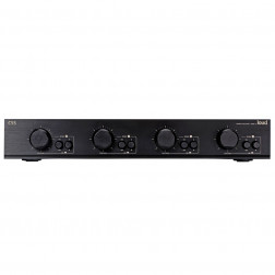 Loud CSS 4 - Seletor de caixas acústicas 4 zonas Preto