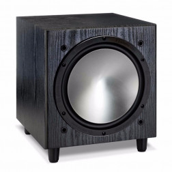 "Monitor Audio Bronze W10 - Subwoofer ativo para Home Theater de 10"" com 220w Class-D - Black"