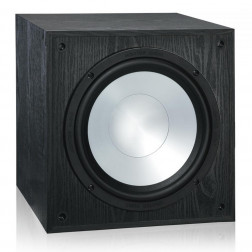 "Monitor Audio MR W10 - Subwoofer ativo para Home Theater de 10"" com Amplificador 100w Class-D - Black"