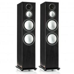 Monitor Audio Silver 10 - Par de caixas acústicas Torre 3-vias para Home Theater - Black