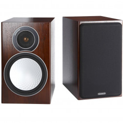 Monitor Audio Silver 2 - Par de caixas acústicas Bookshelf 2-vias para Home Theater - Walnut
