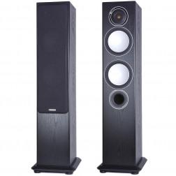 Monitor Audio Silver 6 - Par de caixas acústicas Torre 2,5-vias para Home Theater - Black