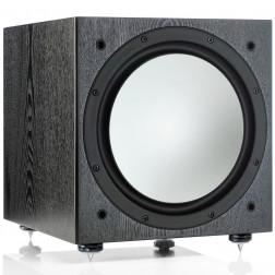"Monitor Audio Silver W12 - Subwoofer ativo de 12"" com 500w - Black"