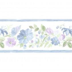Faixa de Papel De Parede Importado Floral Prints 2 B8