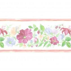 Faixa de Papel De Parede Importado Floral Prints 2 B6