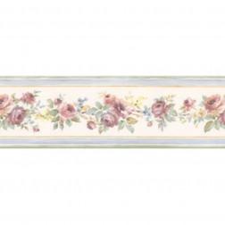 Faixa de Papel De Parede Importado Floral Prints 2 B4