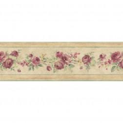 Faixa de Papel De Parede Importado Floral Prints 2 B3