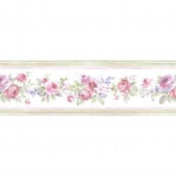 Faixa de Papel De Parede Importado Floral Prints 2 B2