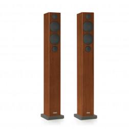 """Monitor Audio Radius 270 - Par de caixas acústicas Torre 3-vias 150Watts 4"""" - Walnut"""