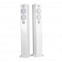 """Monitor Audio Radius 270 - Par de caixas acústicas Torre 3-vias 150Watts 4"""" - Branco Laqueado"""